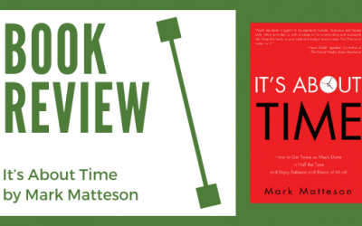 """Book Review: """"It's About Time"""" by Mark Matteson"""